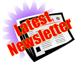 Clipart image of a newsletter