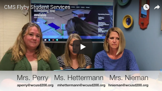 CMS Flyby: Student Support Services