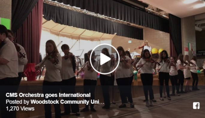 Creekside Orchestra plays Music from Around the World