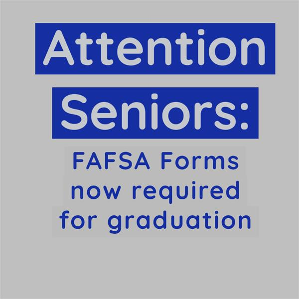 Graphic about FAFSA