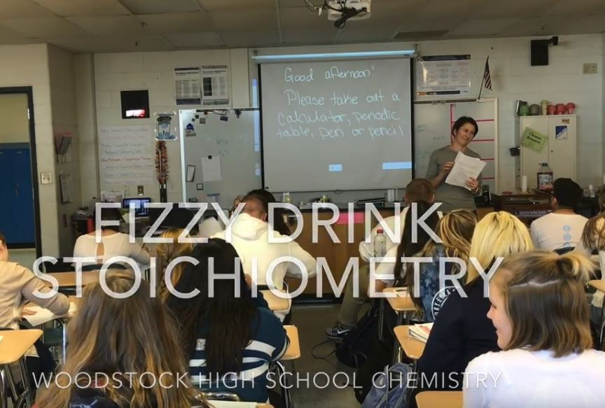 Clip from video of WHS Chemistry class