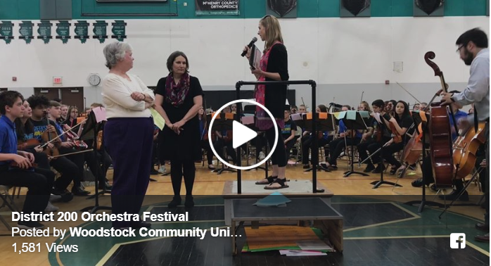 District 200 Orchestra Festival at Woodstock North High School