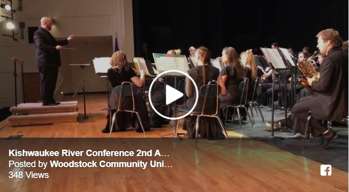 WHS hosts Kishwaukee River Conference Band Festival