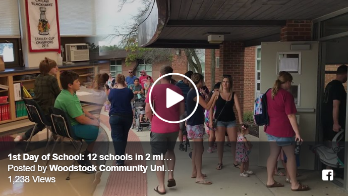 Image of first day of school video