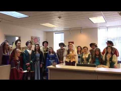 WNHS Madrigals singing at DASC 12-05-17