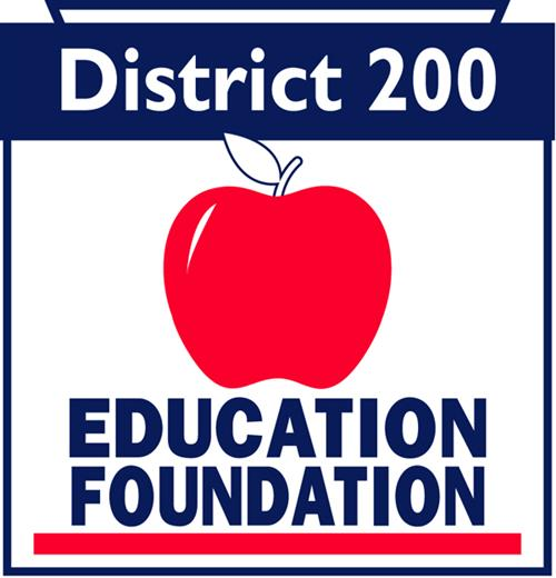 Logo - District 200 Education Foundation